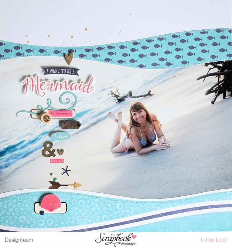 I Want To Be A Mermaid DT